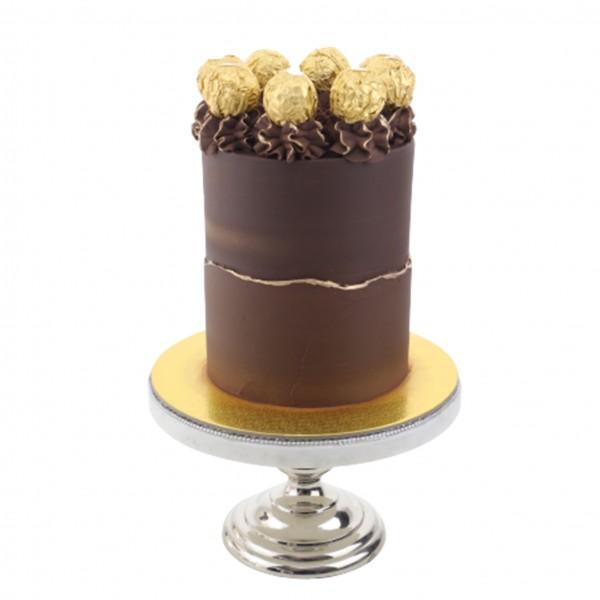 Semi Naked Cake Schoko Gold
