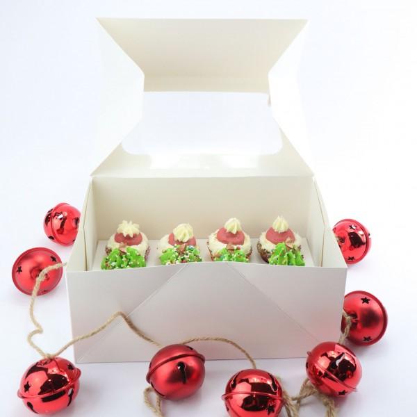 Weihnachtscupcakes mini