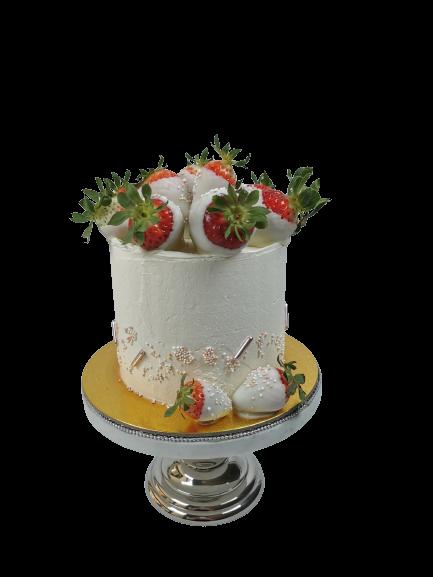 Semi Naked Cake Erdbeer